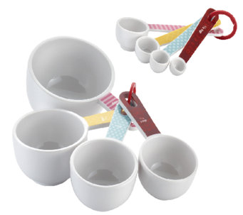 Cake Boss Accessories 8-piece Measuring Cups &Spoons Set - K303079