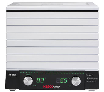Nesco American Harvest Digital Square Food Dehydrator - K303679