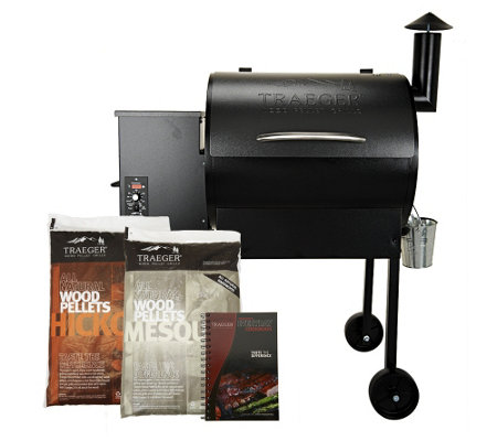 """As Is"" Traeger Lone Star 572 sq. in. Wood Fired Grill & Smoker"