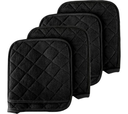 Lavish Home Set of 4 Oversized Pot Holders