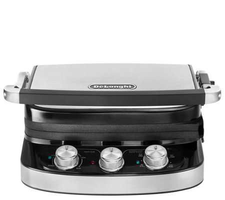 DeLonghi 5-in-1 Electric Grill & Griddle with Ceramic Coating