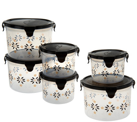 Temp-tations 6-piece Old World Round Storage Set