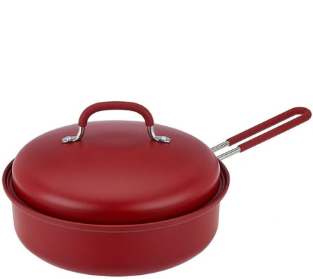 3qt Covered Round Nonstick BBQ Pan by MarkCharles Misilli