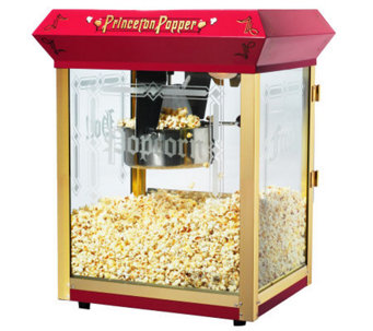 Red Princeton 8-oz Antique-Style Popcorn Machine - K131880
