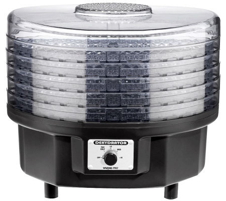 Waring Pro Professional Dehydrator with 5 Stackable Trays
