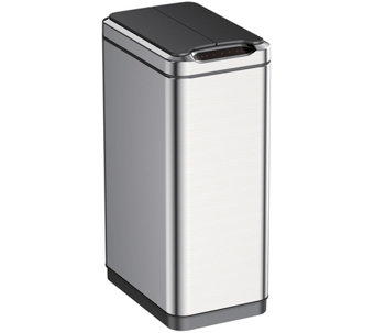 EKO 50L Phantom Sensor Trash Can, Stainless steel - K305481