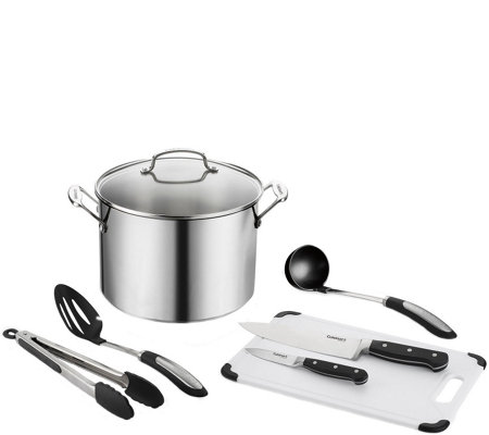 Cuisinart Chef's Classic Stainless 8-Piece Soupand Simmer Set