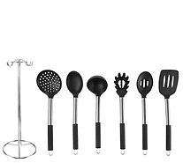 Classic Cuisine 7-Piece Stainless Steel KitchenUtensil Set - K376581