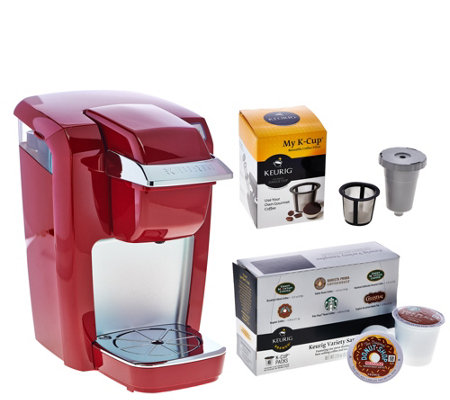 Keurig K15 Personal Coffee Maker with My K-Cup & 6 K-Cup Packs