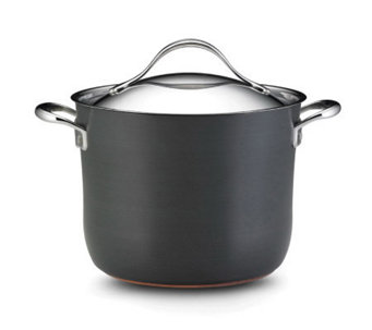 Anolon Nouvelle Copper 8 Qt. Covered Stockpot - K127082