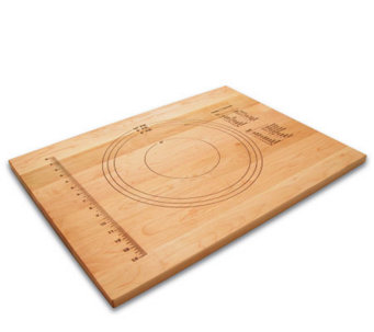 "18"" x 24"" Solid Maple Pastry Board w/ MeasuringMarks - K129982"