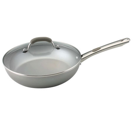 "Farberware Specialties - 10.5"" Covered Deep Frying Pan"