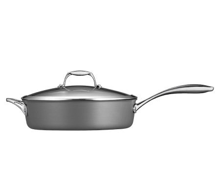 Tramontina Gourmet Hard-Anodized 5.5-qt Covered Saute Pan