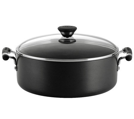 "Circulon Acclaim 7-1/2"" Covered Stockpot"