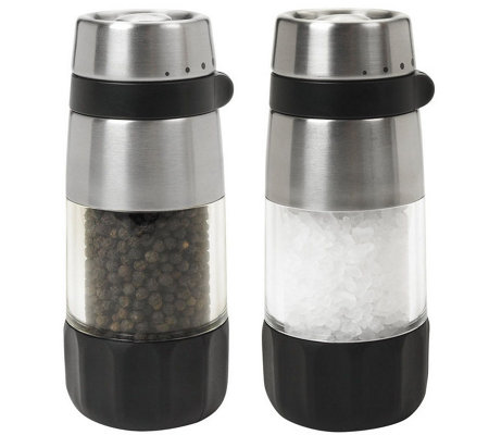 OXO Good Grips Salt and Pepper Grinder Set