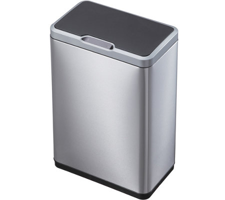 EKO 50L Mirage Sensor Trash Can, Stainless steel