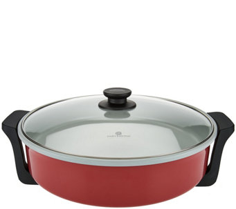 "CooksEssentials XL 14"" 1400W Ceramic Rapid Skillet - K44583"