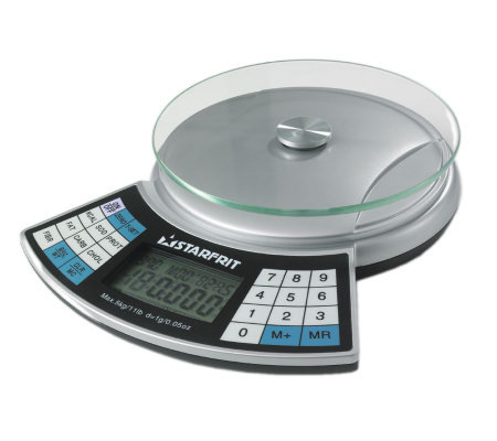 Starfrit 11 lb. Capacity Nutritional Kitchen Scale