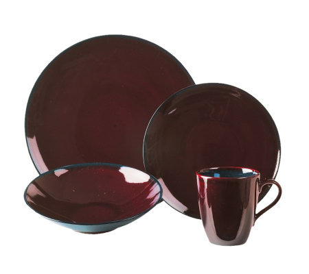 Mikasa Sedona Brown 4-Piece Place Setting