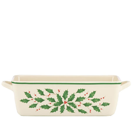 Lenox Holiday Loaf Pan