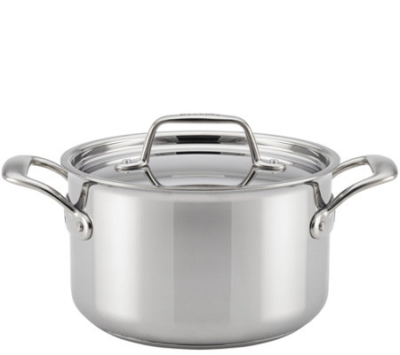Breville Thermal Pro Clad Stainless Steel 4-qtSauce Pot