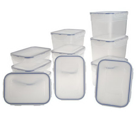 Lock & Lock 12-piece Nestable Storage Set
