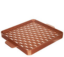 "Copper Chef X-Design 12"" x 12"" Nonstick Barbecue Pan - K48184"