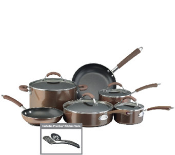 Farberware Millennium Aluminum 12-Piece Set - Bronze Color - K131785