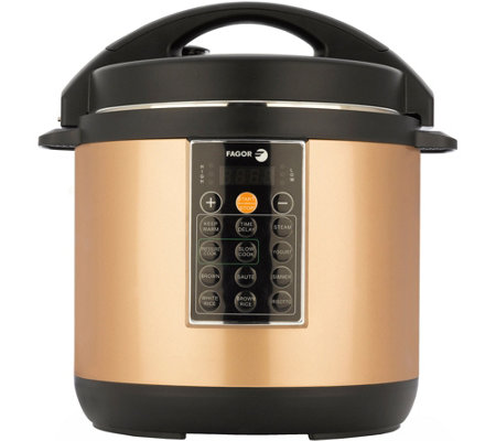 Fagor Lux 6-Quart Copper Multi-Cooker