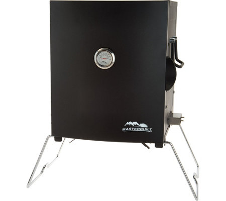 Masterbuilt 2-Rack Patio & Portable Electric Smoker with Rib Rack