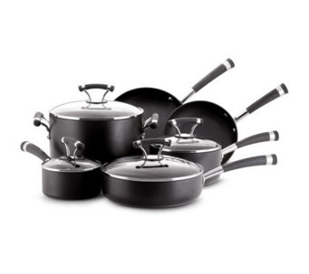 Circulon Contempo Hard-Anodized Aluminum 10-Piece Set - K127186