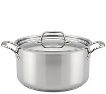 Breville Thermal Pro Clad Stainless Steel 8-qtStock Pot - K306186