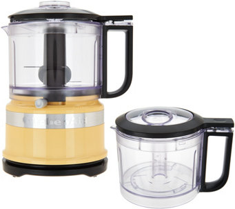 kitchenaid 35 cup onetouch 2speed chopper with extra bowl k45786 - Kitchen Aid Appliances