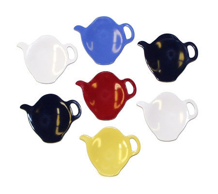 Gourmac Set of 7 Tea Bag Caddies