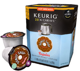 Keurig 48-ct The Original Donut Shop Regular K-Carafe Pods - K303787