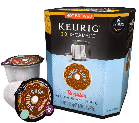 Keurig 48-ct The Original Donut Shop Regular K-Carafe Pods