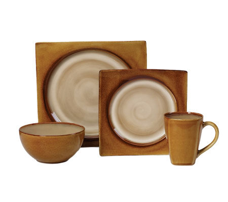 Mikasa Solstice Amber 4-Piece Place Setting