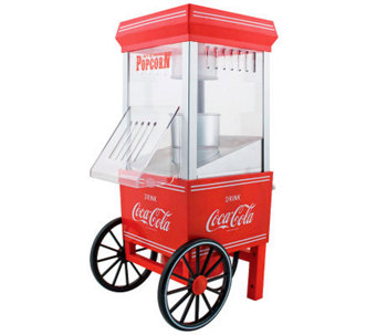 Nostalgia Electrics Coca-Cola Series Hot Air Popcorn Maker - K300988