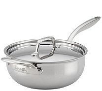 Breville Thermal Pro Clad Stainless Steel 4-qtSaucier - K306188
