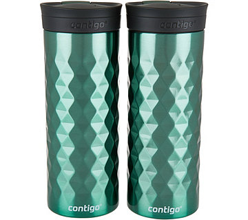 Contigo Set of 2 20oz. SnapSeal Kenton Thermal Mugs - K45288