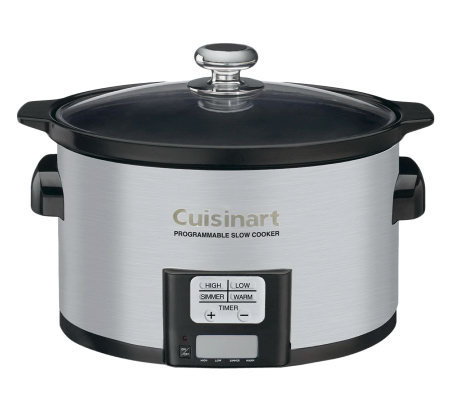 Cuisinart 3.5-Qt Programmable Slow Cooker