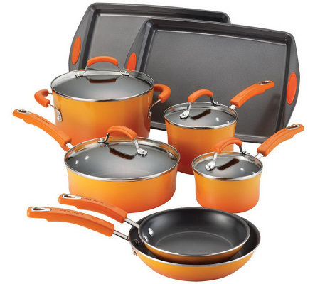 Rachael Ray Porcelain II Nonstick 12-Piece Set