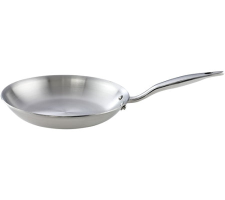 "Hammer Stahl Stainless Steel Clad 10.5"" Fry Pan"