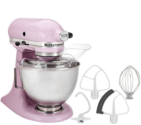 KitchenAid 4.5qt. 300W Tilt Head Stand Mixer with Flex Edge