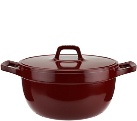 T-fal Simmer & Stew Cast Aluminum Dishwasher Safe 5qt Dutch Oven
