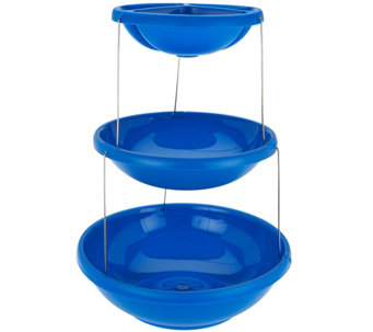 Fozzils Choice of Collapsible 3 Tier Platter or Bowl - K44590