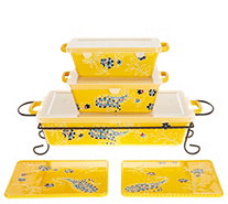 Valerie Bertinelli 6-Piece Bake & Serve Set - K47190