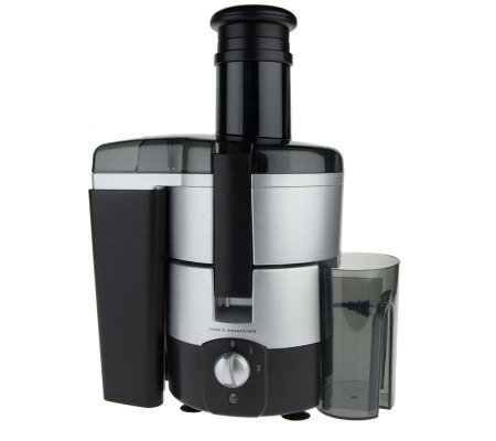 CooksEssentials 1 Liter Juice Extractor with Wide Feed Tube