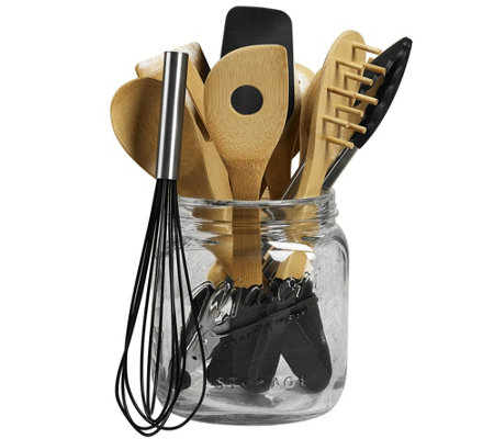 12-Piece Mason Jar Tub of Tools