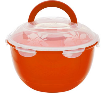 Lock & Lock Salad to Go Storage Set w/ Colored Body - K43391